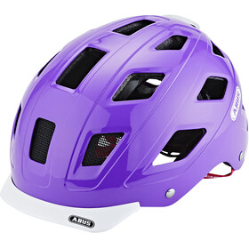 ABUS Hyban Bike Helmet purple